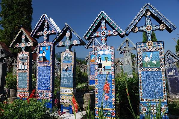Fröhlicher Friedhof in Sapanta