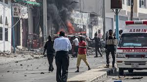 BREAKING: Somalia-- Explosion Rocks presidential palace in Mogadishu