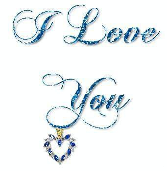 I love you word image