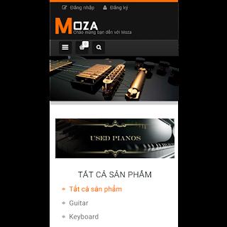 template blogspot bán guitar thiết kế chuẩn SEO