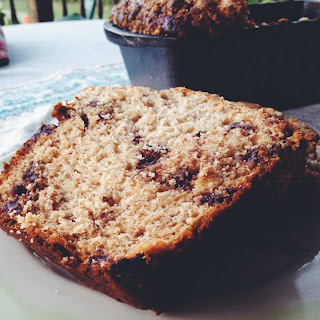 Chocolate Chip Banana Loaf