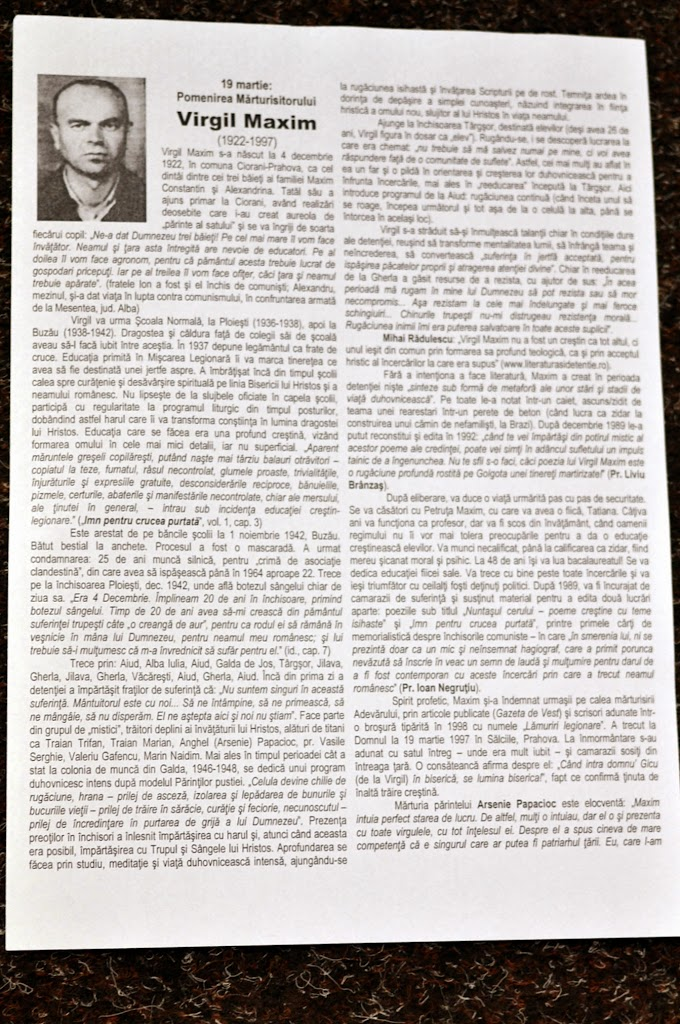 002 Avva Justin Parvu si Sfintii inchisorilor (Teatrul Luceafarul, Iasi, 2014.03.19)