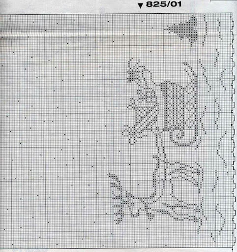 cortinas tejidas navideñas 1117566150062