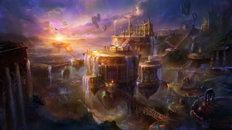 nayan pal hd futuristic city backgrounds