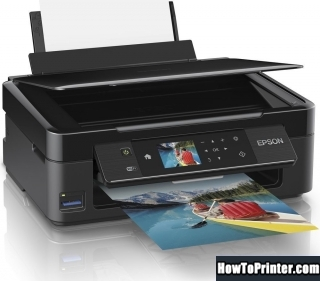 Resetting Epson XP-422 printer Waste Ink Pads Counter