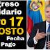 Compruebe si es beneficiario de la Ingreso  solidario  de Colombia y cómo se le pagará.