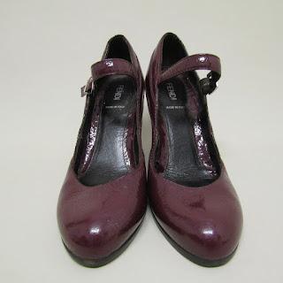 Fendi Patent Leather Wedges