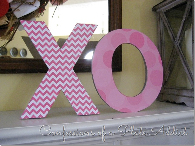 CONFESSIONS OF A PLATE ADDICT Simple Valentine Mantel