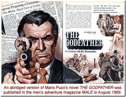 Mario Puzo's The Godfather in MALE August 1969