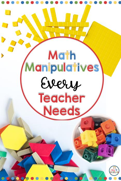 Math manipulatives every teacher needs