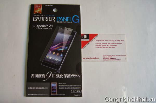 Dán màn Sony Xperia Z1 (SO-01F)chống xước-Chống vỡ-chống vân-siêu sáng T/c 9H