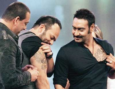 rohit shetty tattoos