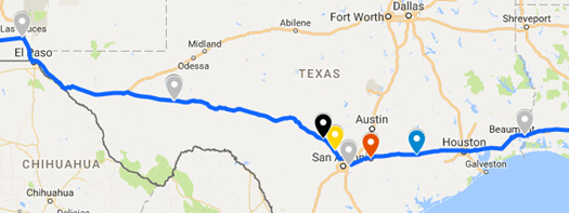 Going RV Way: Through Texas in under 30 Hours! on interstate 75 map, texas map, interstate 4 map, interstate 81 map, interstate i-10, interstate 8 map, i-10 map, interstate 80 map, interstate 421 map, interstate 27 map, interstate 422 map, interstate 70 map, highway 82 map, interstate 20 map, interstate 25 map, i-70 colorado road map, lincoln way map, interstate 5 map,