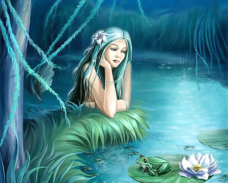 Girl And A Frog, Fairies 1