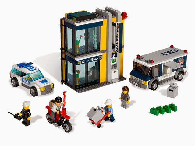 3661 レゴ シティ 銀行と現金輸送車