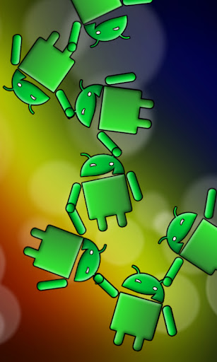 Color Bubbles Single Screen Dock Chomp Lockscreen wallpaper by eyebeam