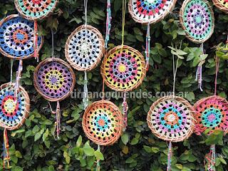 Mandala crochet www.tirnanogduendes.com.ar