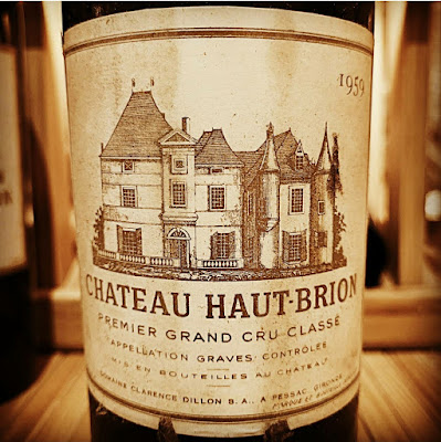 Chateau Haut-Brion 1959  label shot by ©LeDomduVin 2020