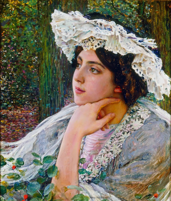 Louis Welden Hawkins - Portrait of Jacqueline