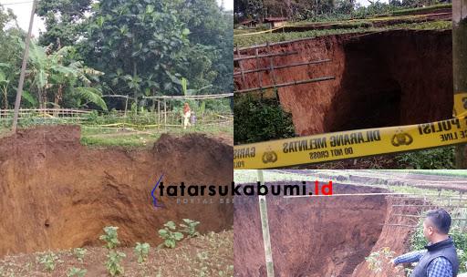 Terungkap! Lubang Raksasa Misterius di Sukabumi Akibat Awan Panas atau Sungai yang Tertutup Aktivitas Gunung Api