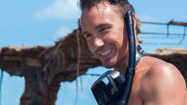 Canadian filmmaker Rob Stewart went missing Tuesday night, 31 January 2017, after vanishing during a dive in the Florida Keys. Photo: Instagram