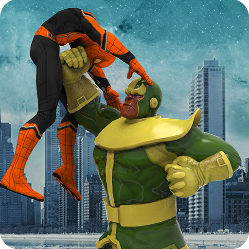 Green monster Infinity battle vs Superheroes (game)