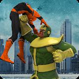 Green monster Infinity battle vs Superheroes