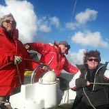 Adélante navigue en Zélande