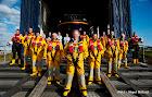Rambler 100 rescue crew & shore support