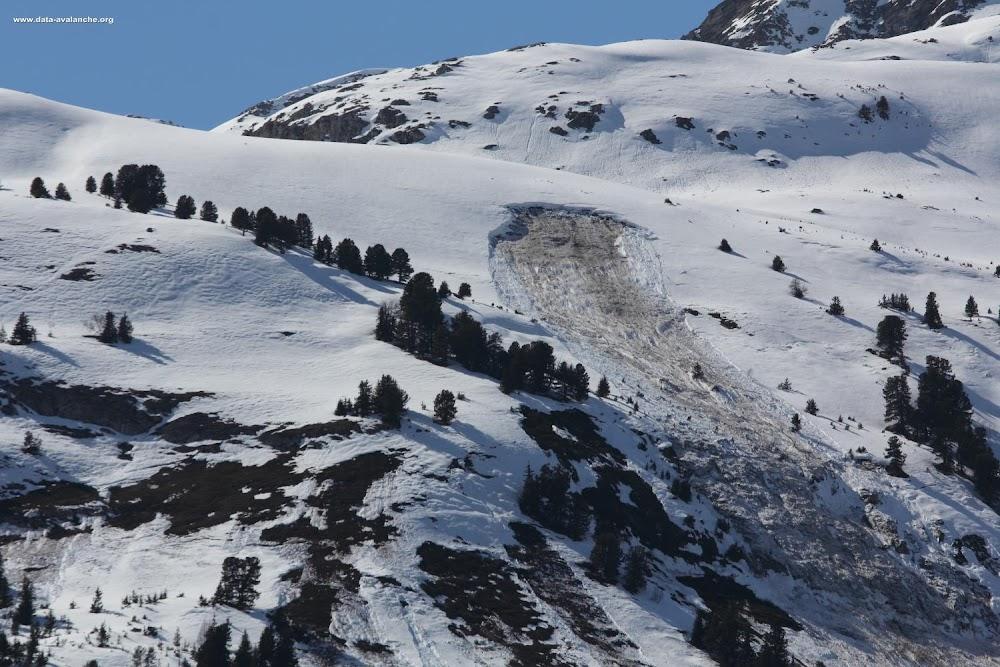 Avalanche Vanoise, secteur Rateau d'Aussois - Photo 1