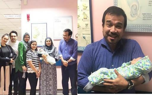 Siti Nurhaliza Bersalin Anak Perempuan