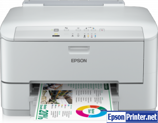 Reset Epson WorkForce WP-4015DN printer by program