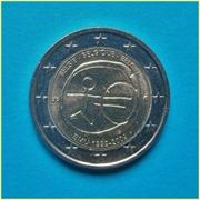 2 Euros Bélgica EMU 2009