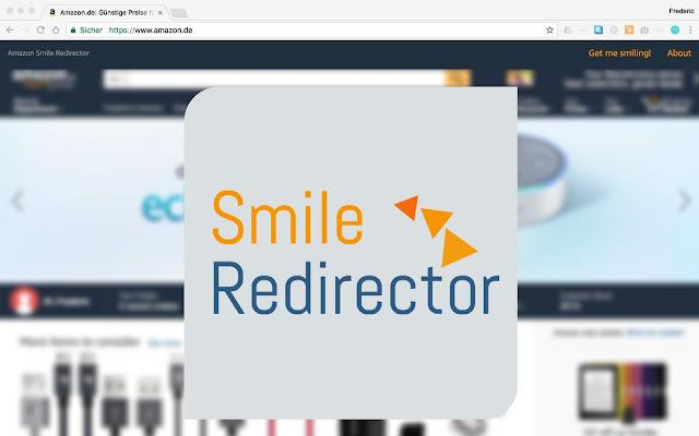 Amazon.* smile redirect plugin