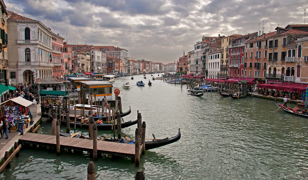 """Venice Grand Canal"" by Dana Pesola 2nd place Digital General ""B"""