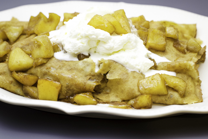 Carmalized Apple Crepes 11
