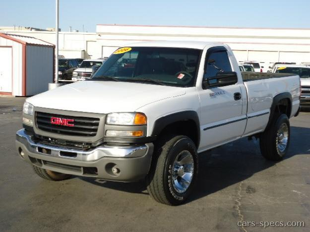 2005 gmc sierra 2500hd regular cab specifications pictures prices. Black Bedroom Furniture Sets. Home Design Ideas