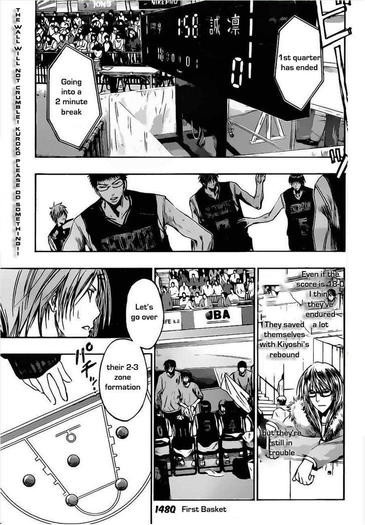 Kuroko no Basket Manga Chapter 148 - Image 03