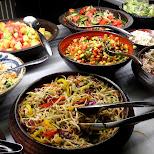 food at copacabana in Toronto, Ontario, Canada