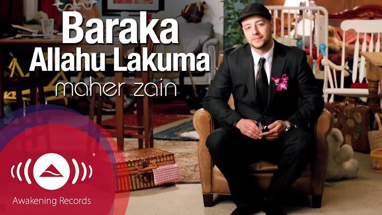 Lirik & Karaoke BAARAKALLAHU LAKUMA - Maher Zain