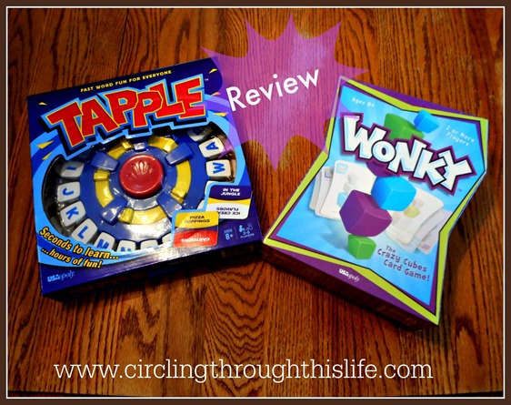 Two great games for family game night~ read Tess's reviw at Circling Through This Life