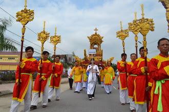 Mừng lễ Các thánh tử đạo Việt Nam