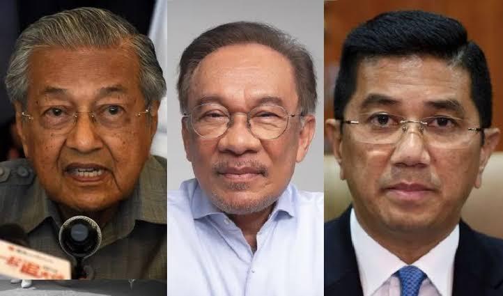 Sangkal Telah Berkhianat, Azmin Ali: Anwar Ibrahim Berusaha Menggulingkan PM Mahathir