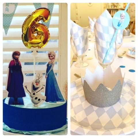 fiesta infantil Frozen