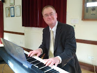 Pianist Miles Wholey, entertaining us with a medley and a singalong 4 Feb 2013