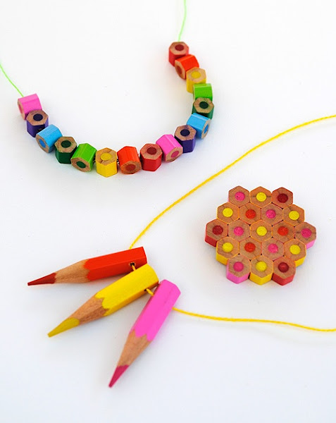 Colored Pencil Bead and Jewelry Tutorial