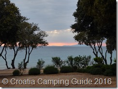 Croatia Camping Guide - Camp Strasko Sunset