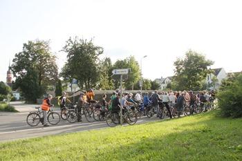 erste Fahrradtour 2017