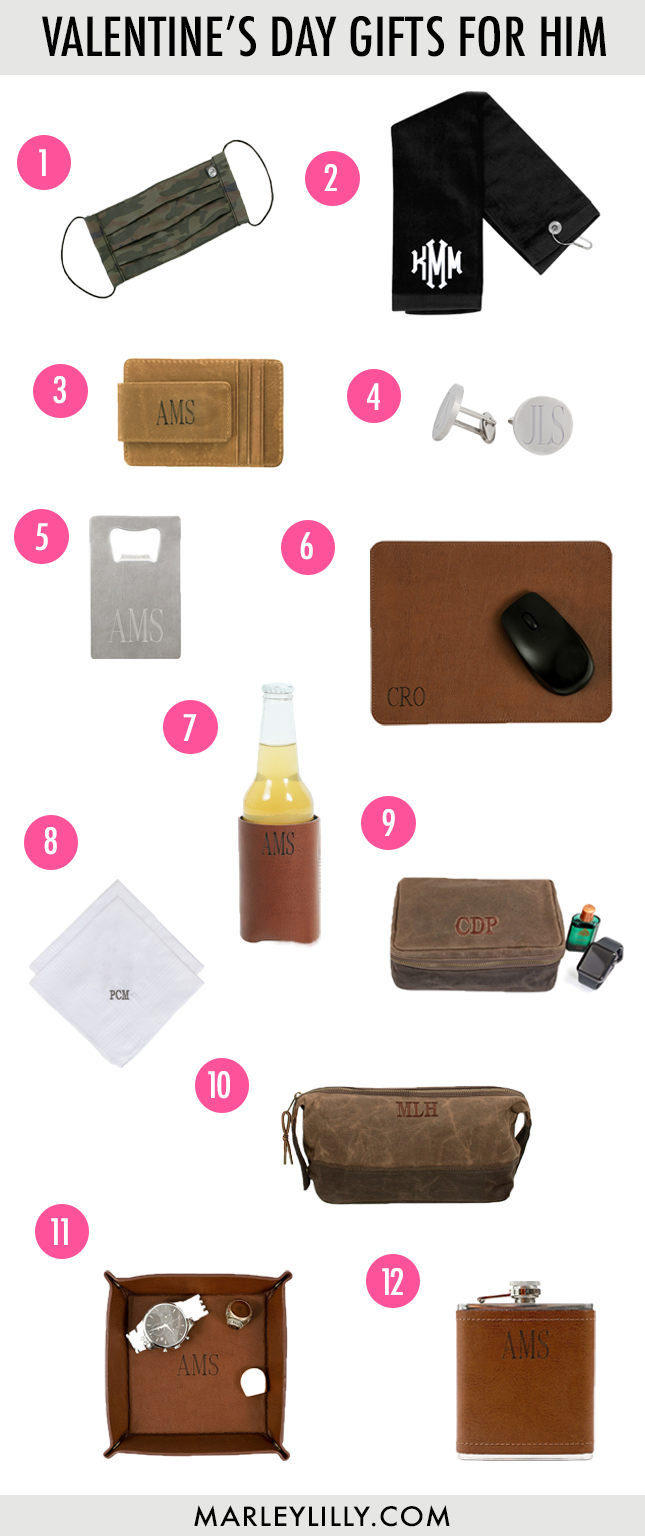 Gifts for Him from Marleylilly.com