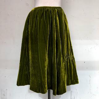 Peter Som Velvet Skirt